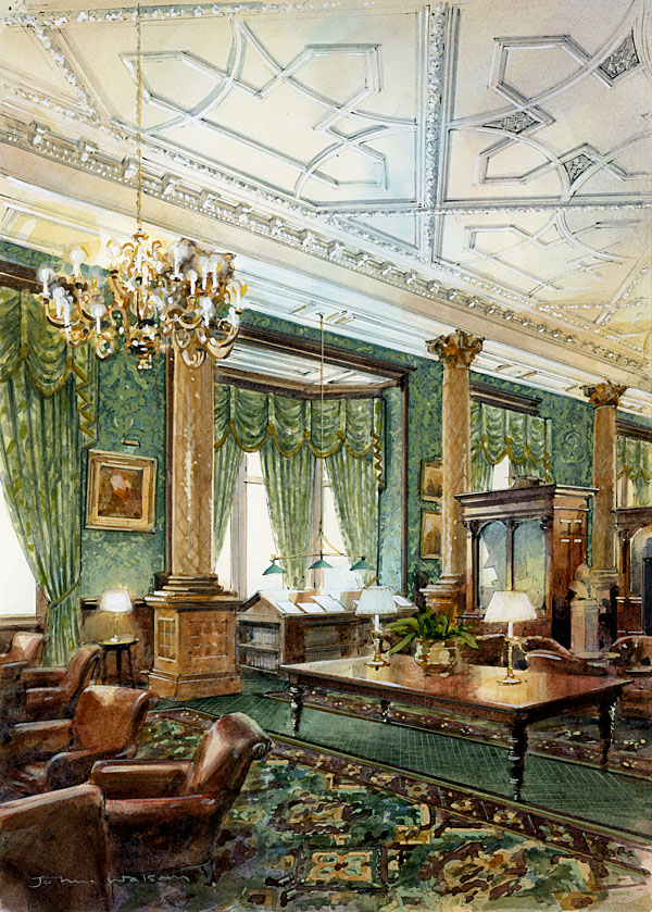Proposed Interior, National Liberal Club
